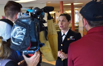 Navy Nurse Awarded